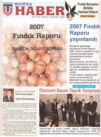 MAYIS-HAZİRAN 2007