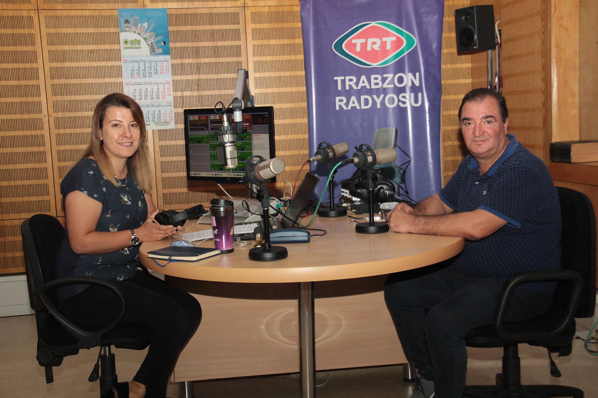 Meclis Başkanı Arslantürk TRT Radyo'ya Konuk Oldu