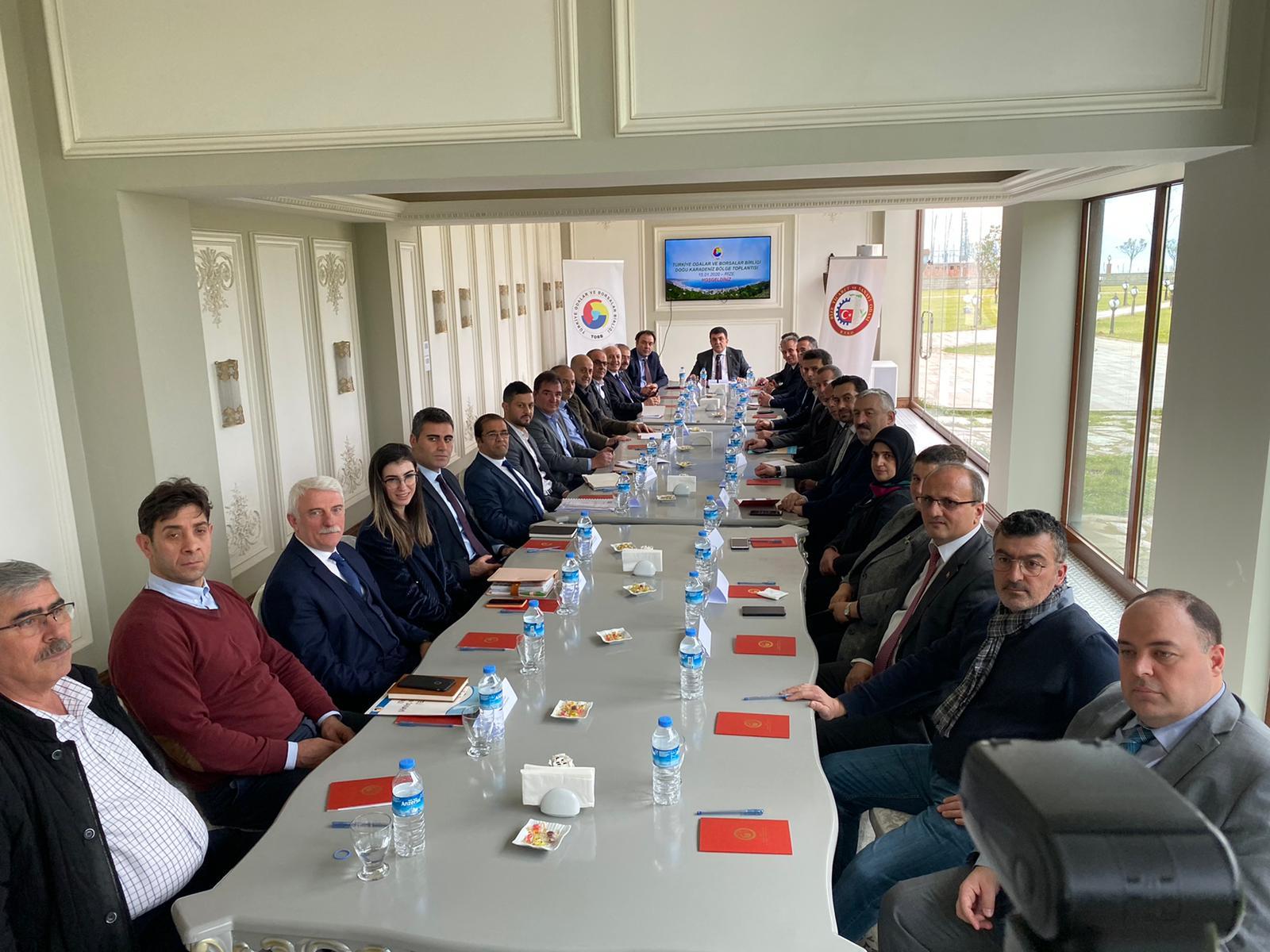TOBB Doğu Karadeniz Bölge Toplantısı