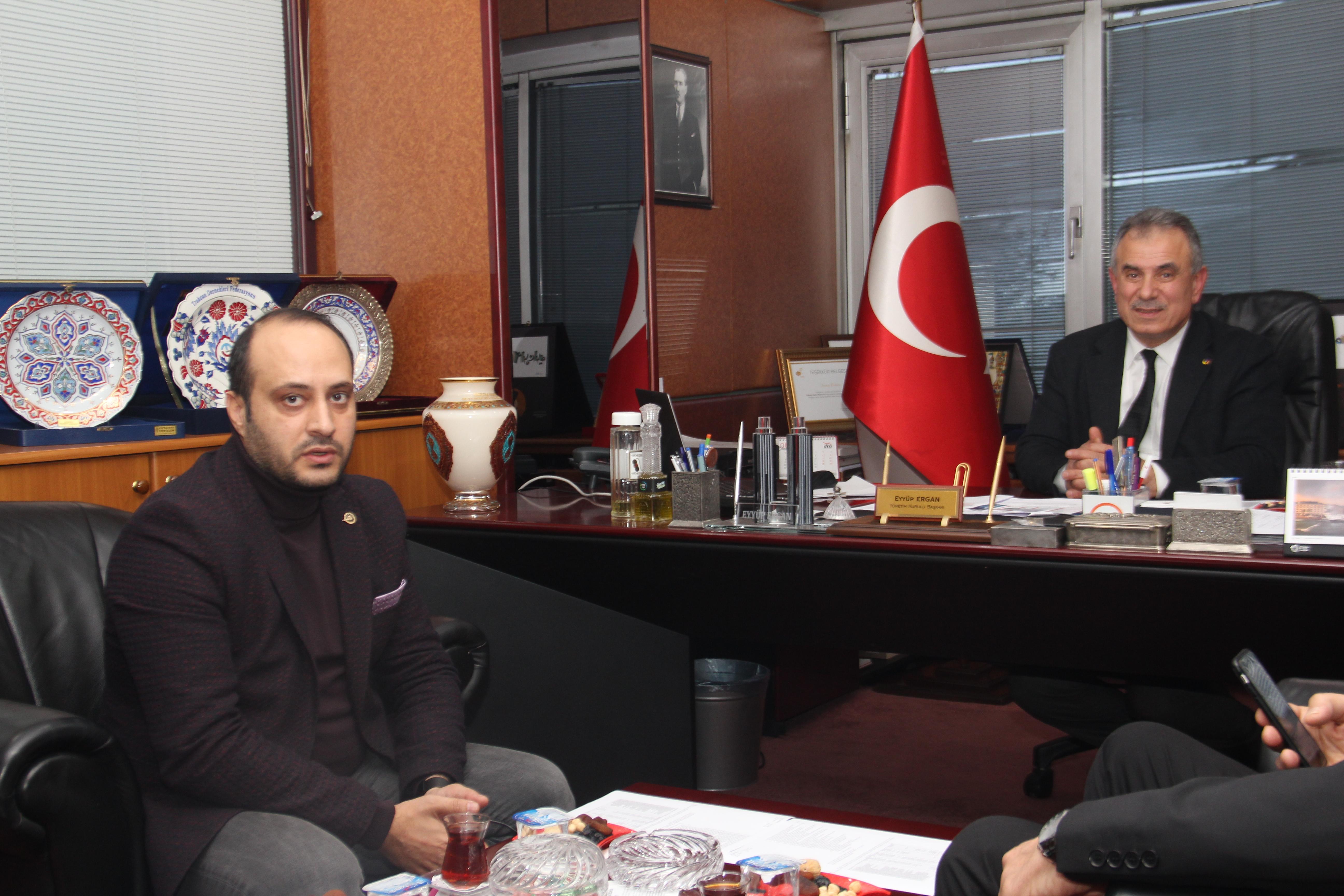 Dünya Gazetesi Temsilcisi Osman Şişko'dan ziyaret