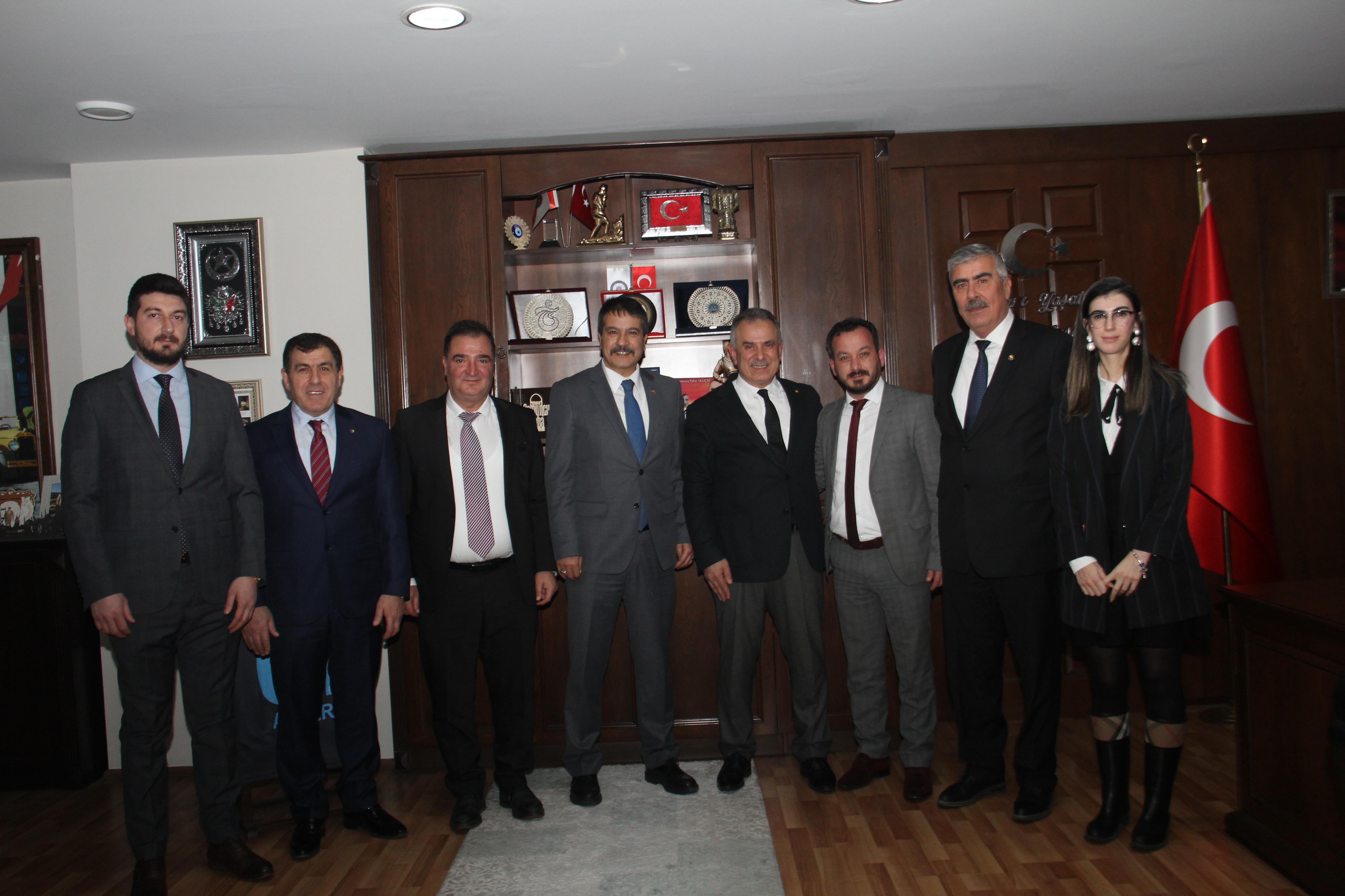 Borsa'dan Emniyet Müdürü Metin Alper'e ziyaret