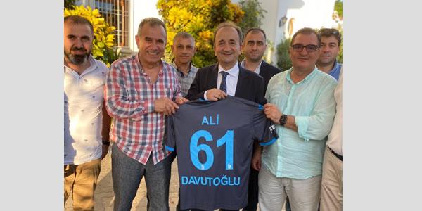 Hazelnut, Tea and TS Uniform for Tanzania Ambassador Davutoğlu