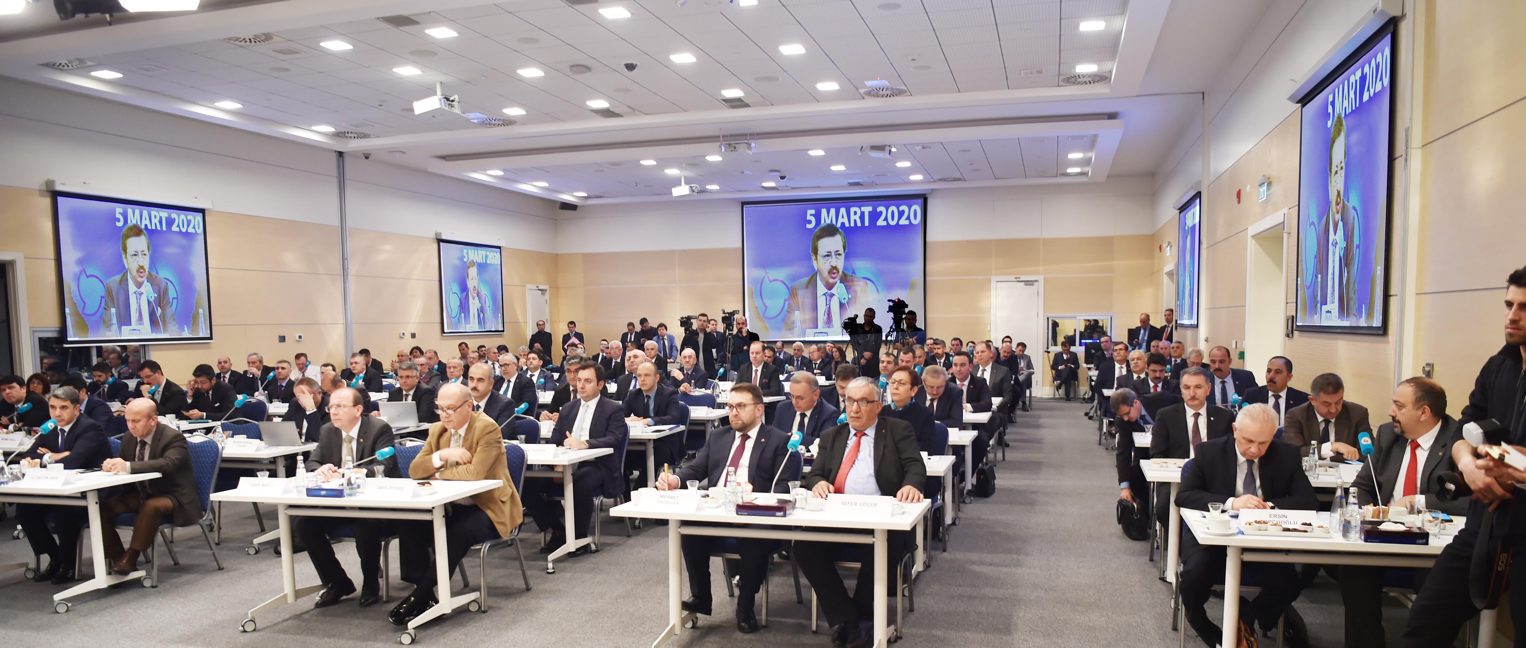 TOBB Ticaret Borsaları Konseyi Toplandı
