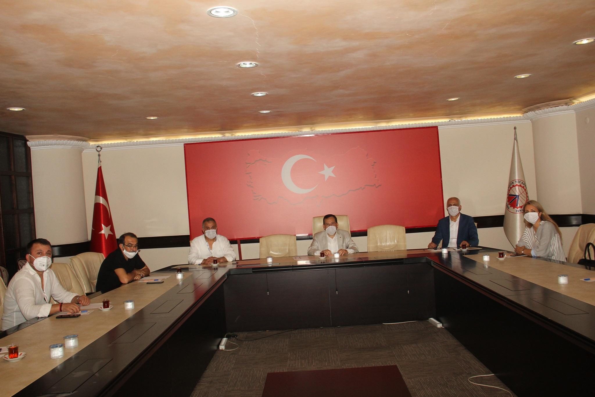 İMKB Mesleki ve Teknik Anadolu Lisesi PYK toplantısı yapıldı