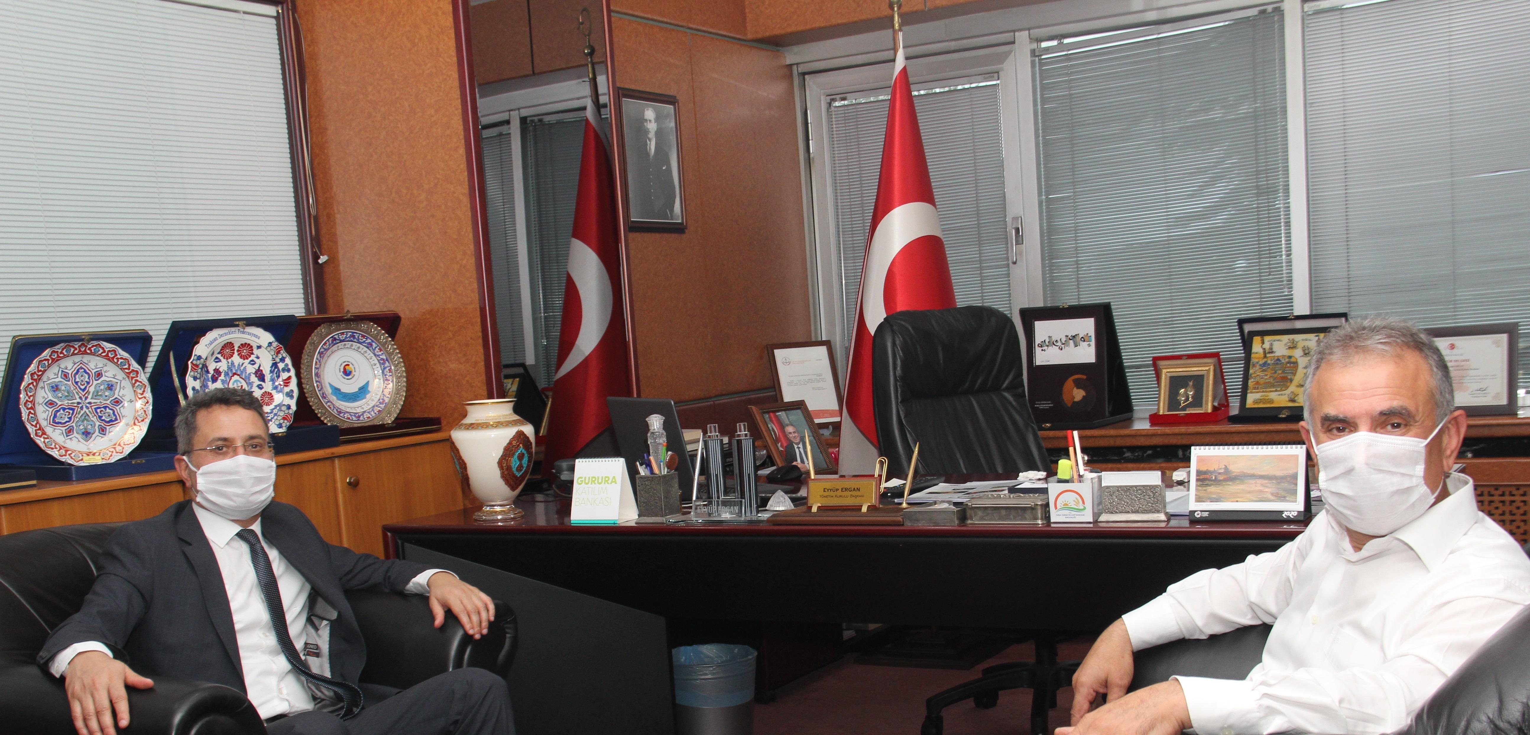 Vergi Dairesi Başkanı Akçay'dan TTB'ye veda ziyareti