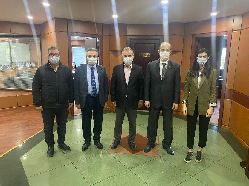 KTÜ Rektörü Çuvalcı'dan TTB'ye ziyaret