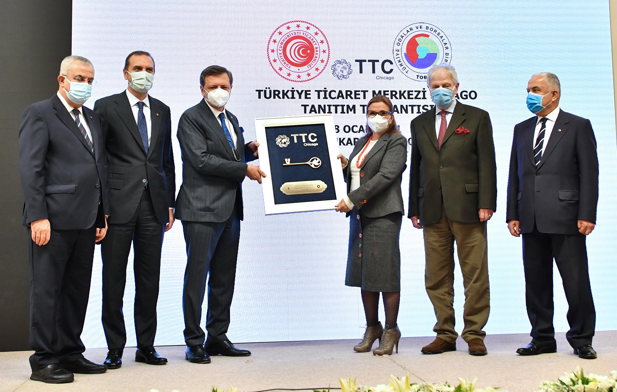 TOBB ABD'de Ticaret Merkezi Kurdu