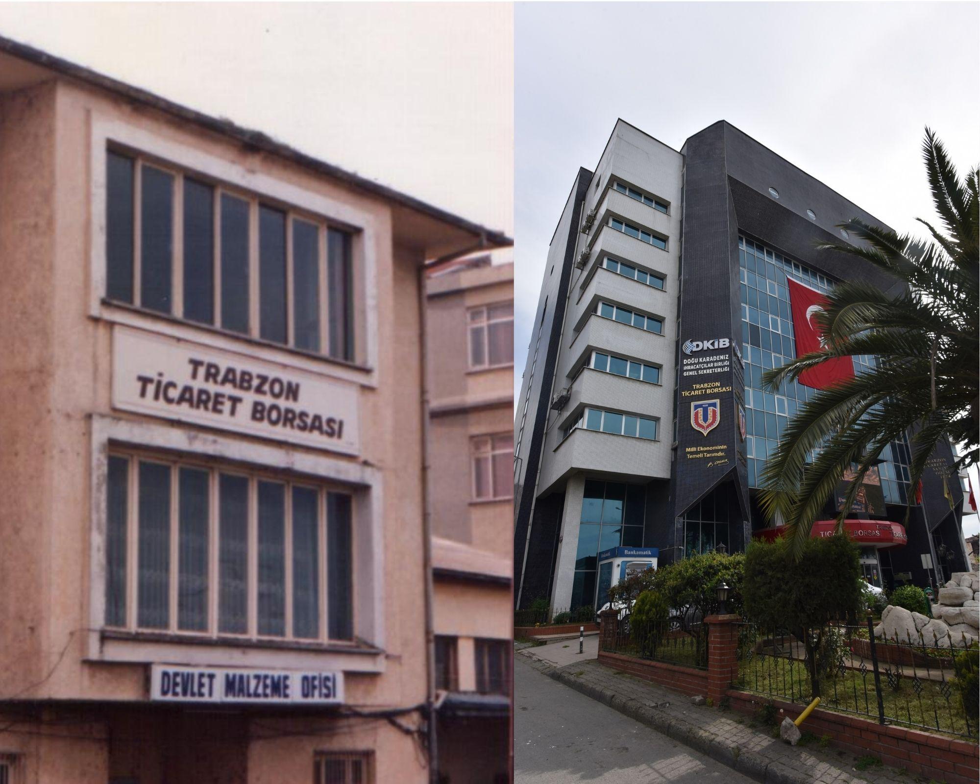 Trabzon Ticaret Borsası'nın kuruluşunun 95'inci yıldönümü…
