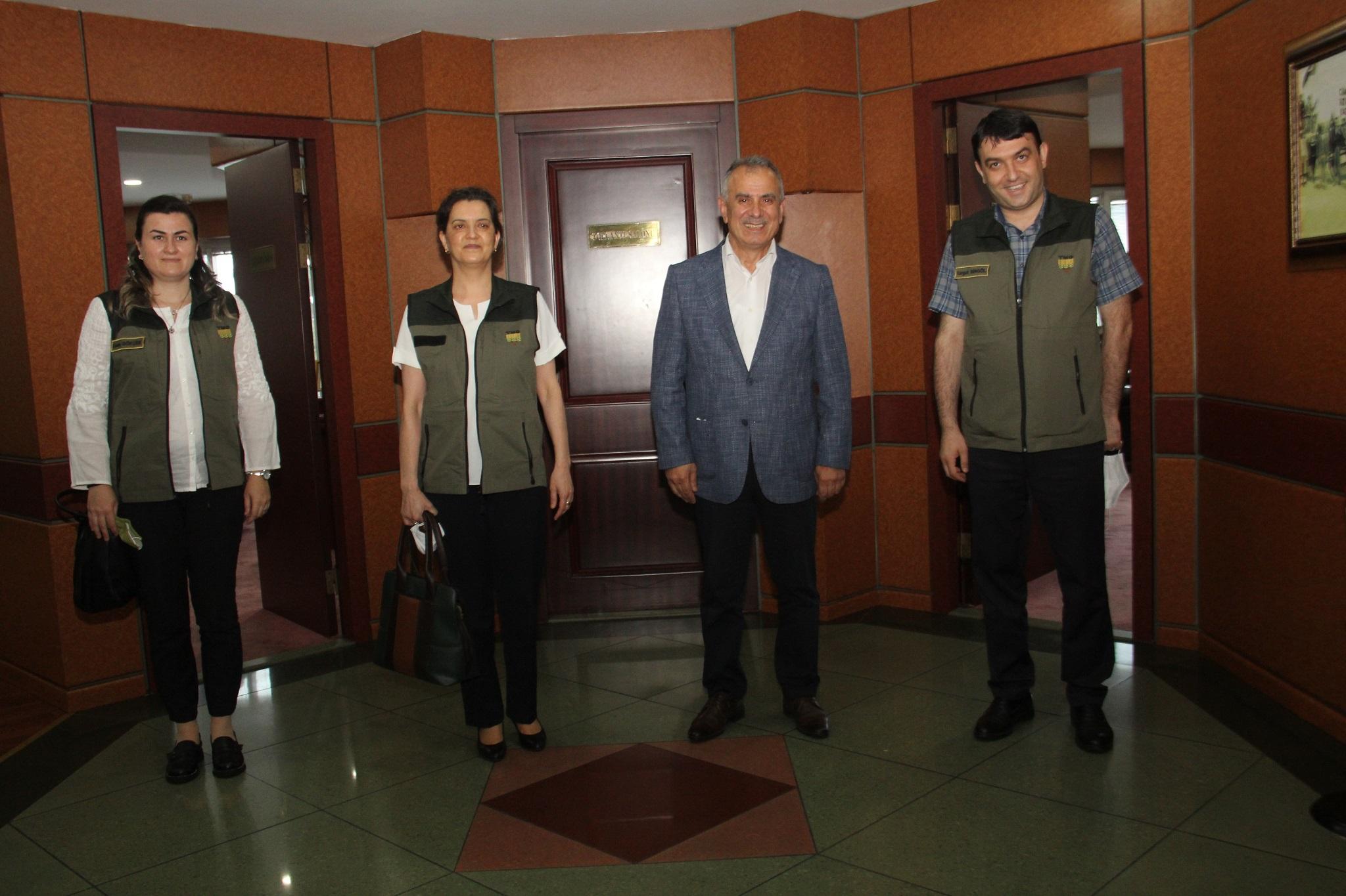 TMO Trabzon Şubesi'nden Borsaya ziyaret