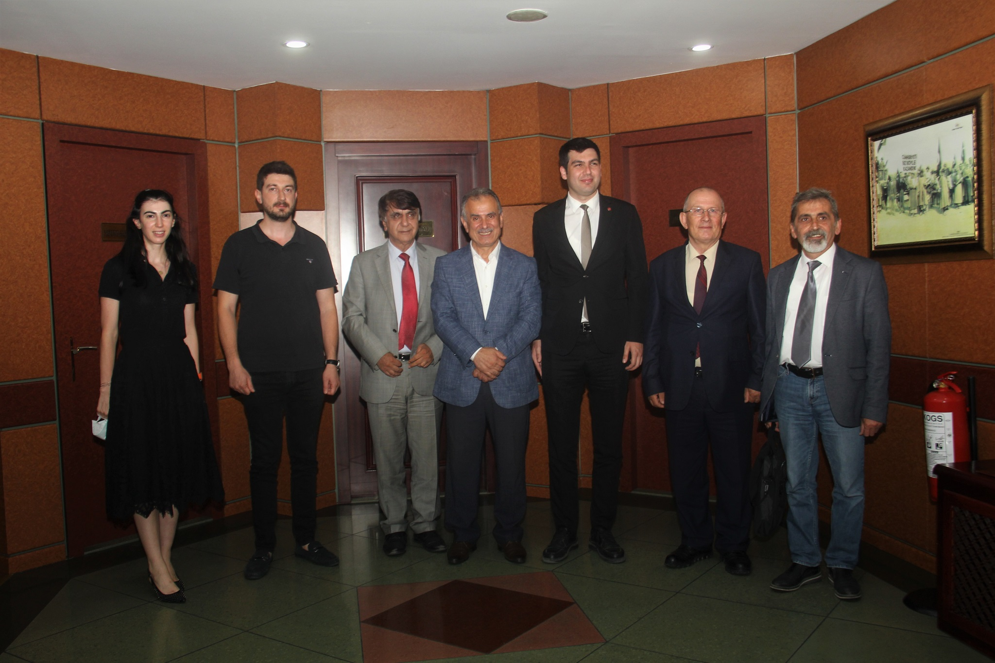 Vatan Partisi Genel Sekreteri Bursalı'dan Borsaya ziyaret