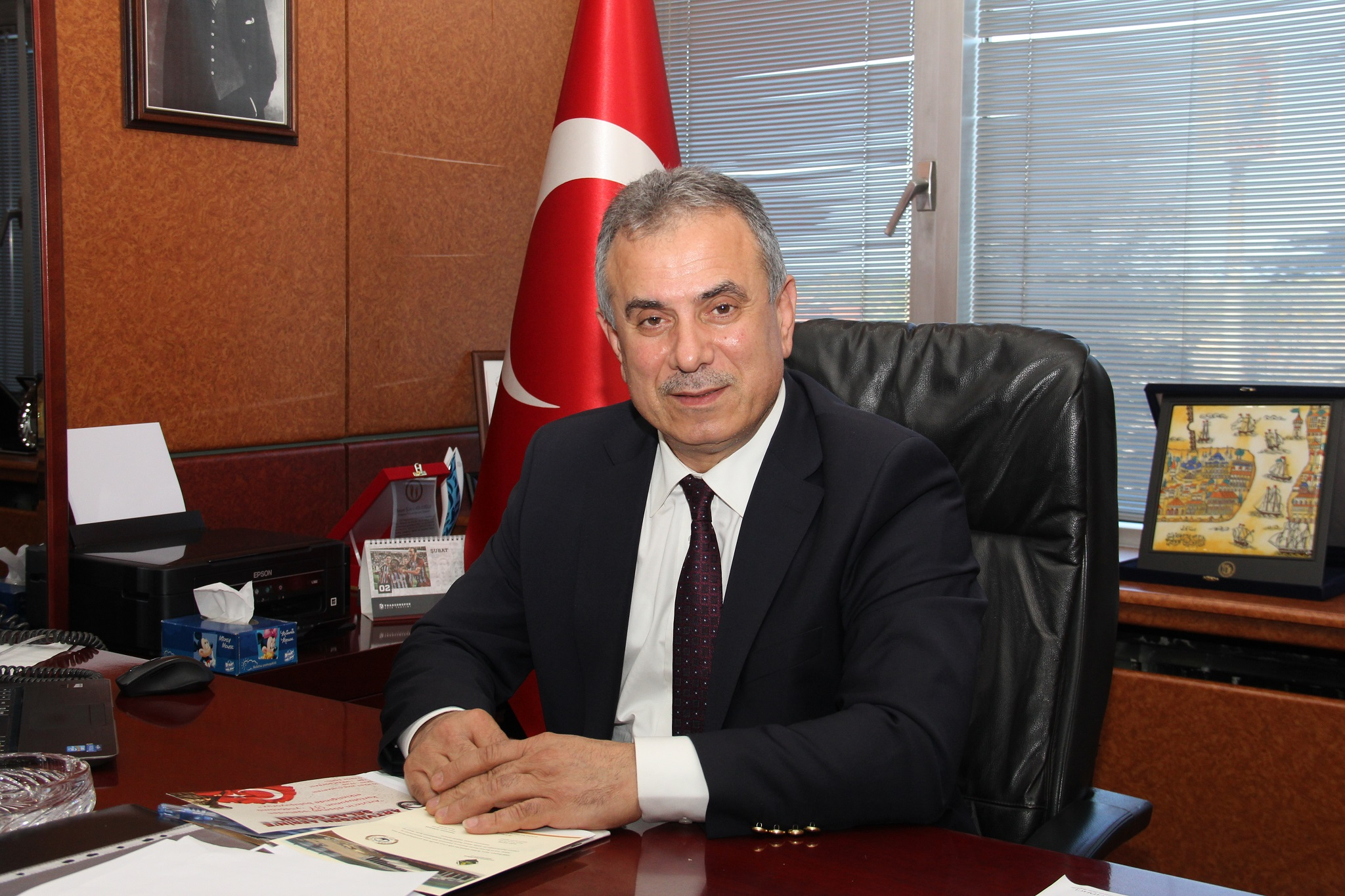 """TTB Başkanı Ergan; """"Milli geliri yükselmiş bir Türkiye'yi birlik ve beraberlik içinde oluşturacağız."""""""