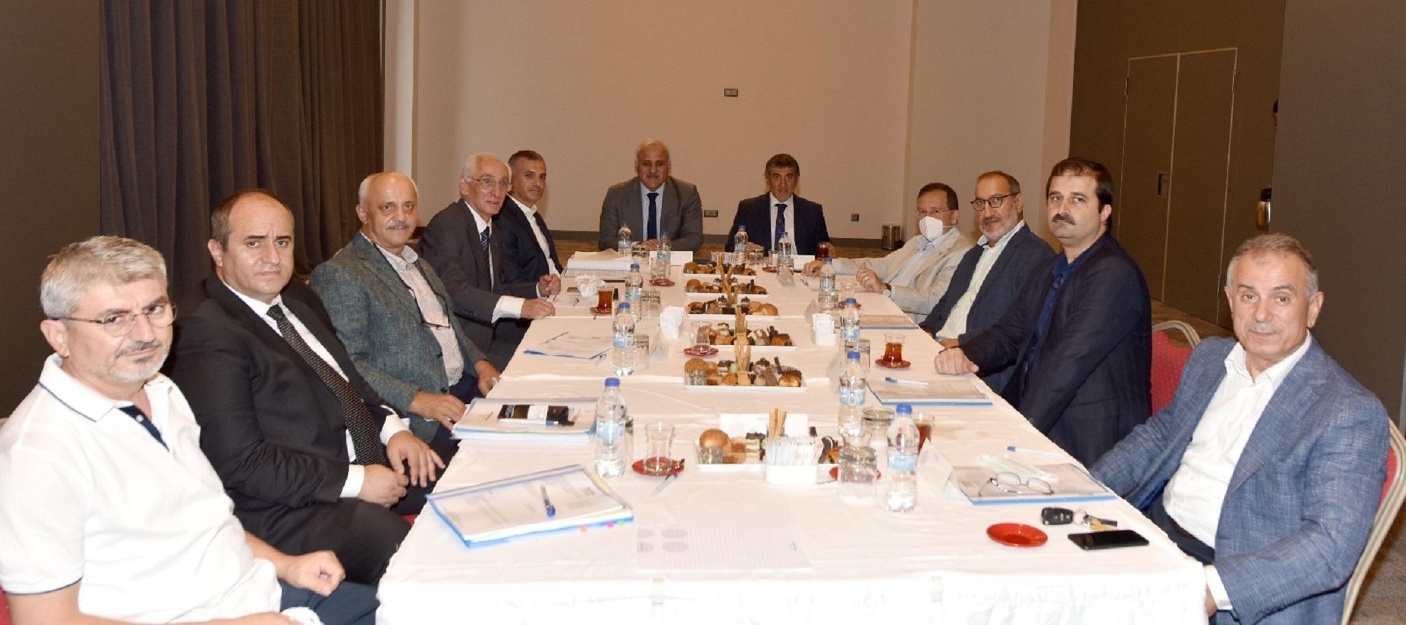 Trabzon DTM Toplantısında gündemdeki konular ele alındı