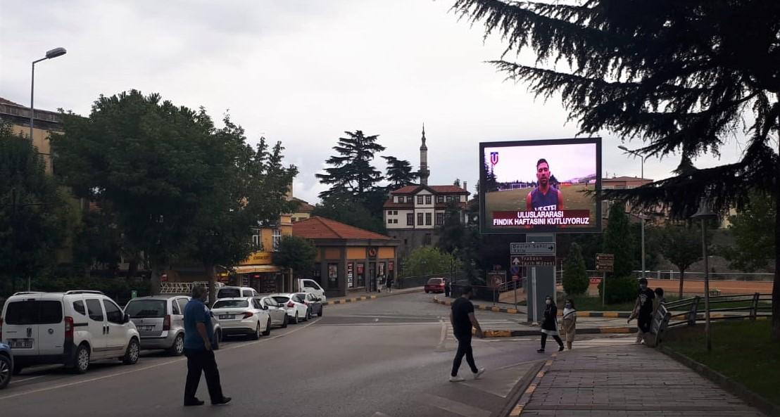 Trabzonspor'un fındığa desteği sürüyor