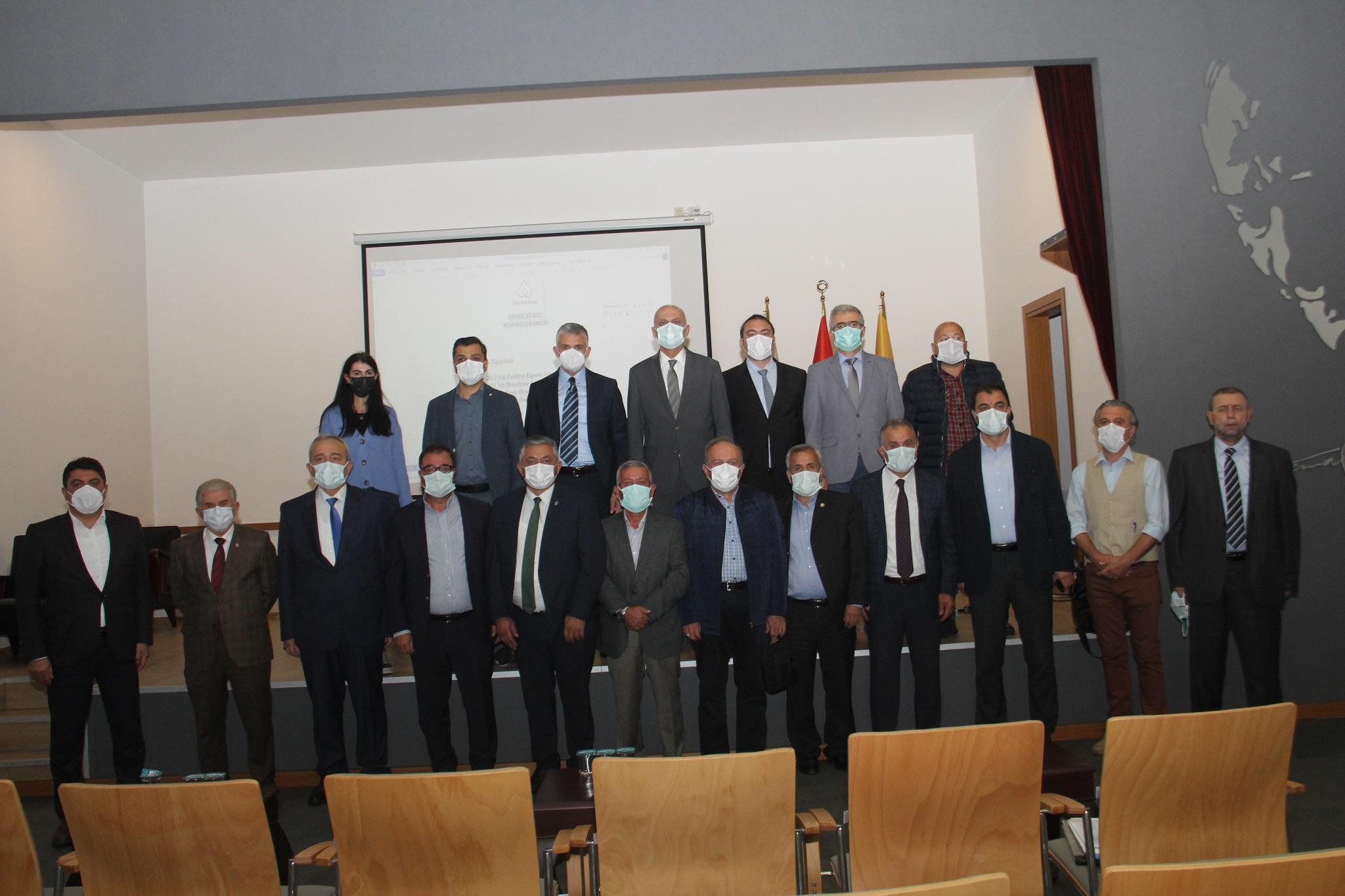 Ulusal Fındık Konseyi Genel Kurulu yapıldı